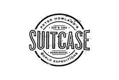 Suitcase Vintage Logo Design by A. Micah Smith