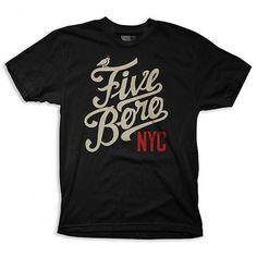 5boro | 2011 Summer T-shirts | Radcollector.com #thshirt