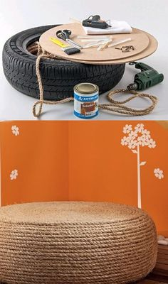 #DIY #recycle #tire #rope