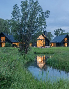 Fishing Cabin | Carney Logan Burke Architecture Firm & Design Studio - WY MT