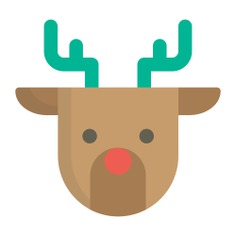 See more icon inspiration related to animal, winter, deer, reindeer, christmas, mammal and animals on Flaticon.