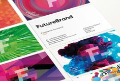 Futurebrand Logo #museo #serif #colorful #logo #future