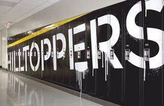 Marshall School - Cody Paulson | Creative Person #graphics #wall