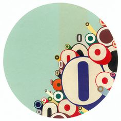 Greg Lamarche Works #circle #collage #typeography