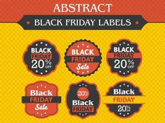 Free Black Friday Badges