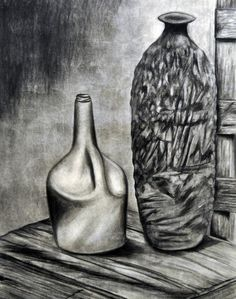 Alex Felter #jug #charcoal #drawing #art
