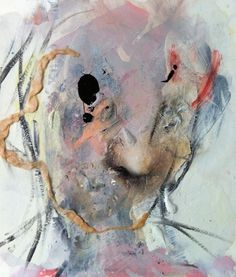 Daniel Lumbini - Self Portrait (not photorealistic)   5 Pieces Gallery - Contemporary Fine Arts & Photography #painting #artist #collage #art