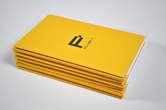 A.N.D (Aidan Nolan Design) Studio #print #yellow #design #graphic #brochure