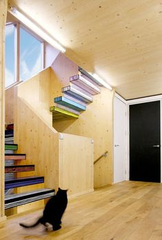 wood block house, london.dMRR architects #inspiration #stairs #architecture