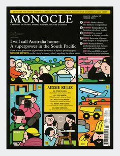 Monocle Rami Niemi #design #graphic #illustration #monocle #typography