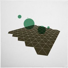 #333 Deep space cartography part II – Now in 3D! – A new minimal geometric composition each day