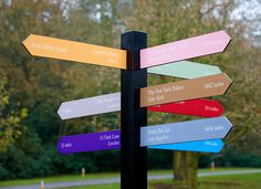 AND SMITH #wayfinding #colour #signage