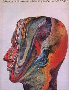 Gebrauchsgraphik in the Sixties - 50 Watts #man #1969 #magazine #gebrauchsgraphik