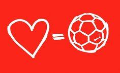 Puma - Love = Football #logo #puma #identity #branding