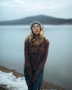Gorgeous Female Portrait Photography by Matt Marcheski