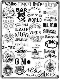 Vintage_logo_4 #type #vintage
