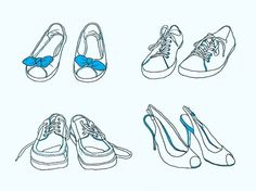 Anna Magnussen News #magnussen #shoes #dance #illustration #day #anna