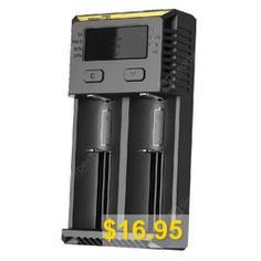 Nitecore #NEW #i2 #Battery #Charger #- #BLACK