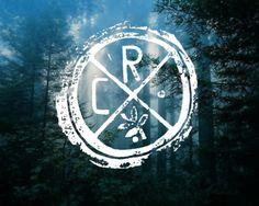 CR. #stamp #tumblr #ink #white #linoleum #com #forest #crollan