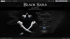 Black Sails on Behance #site #photography #web