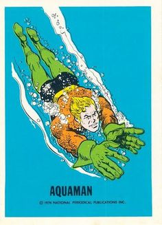 The Card Museum #man #aqua #trading #card
