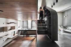 BlackMetal Apartment / KC Design Studio