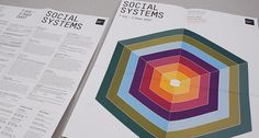 Social Systems Exhibition | Print Design | A-Side #side #poster