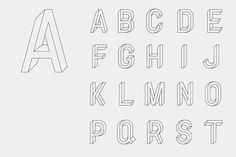 Utopia Utopie Typeface #typography #type #alphabet #rm co