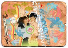 JPOP Japanese pop on the Behance Network #design #graphic #colorfull #mom #birthday #love