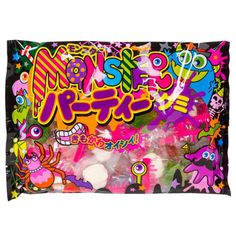 Monster Party Gummy Bag - Marimo Marshmallow Store