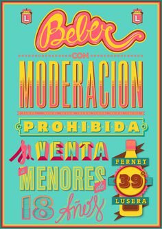 Typography Lover by Pablo Alfieri aka Playful | Abduzeedo | Graphic Design Inspiration and Photoshop Tutorials #type #design #color