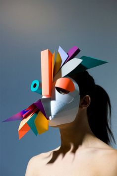 Paperform: Amazing Paper Creations by Benja Harney | Inspiration Grid | Design Inspiration