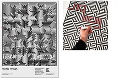 See the work  Music  Design Agency Manchester #print #maze #poster