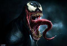 VENOM by DanLuVisiArt on deviantART #spiderman #dan luvisi #venom