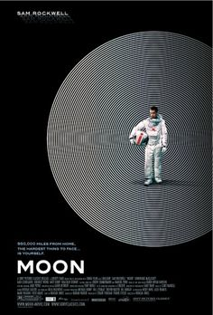 MOON #film #direction #minimal #art #poster #moon