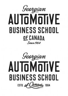 Georgian Auto #type #branding #logo
