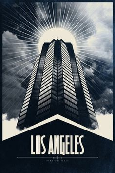 All sizes | Los Angeles | Flickr - Photo Sharing! #justin #los #van #genderen #justinvg #travel #illustration #poster #angeles