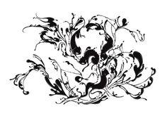 The Spirit of the 9 Lives #erdokozi #nine #white #flow #9 #black #lives #cats #erik #spirits #splash #organic