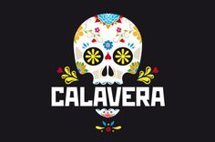 Project: 2 Logotypes one brandnnClient: Calavera Clothing Co.nnCountry: USAnnYear: 2013 #calavera #logos
