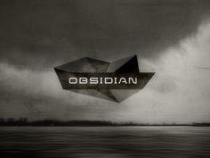 Dribbble - Obsidian Logo / Identity Design Concept by Gert van Duinen #logotype #obsidian #lettering #geometry #identity #polygons #logo #typography