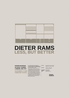 Dieter Rams: Less, But More on the Behance Network
