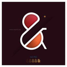Paris Pro 6 by Moshik Nadav #lettering #design #glyph #ampersand #typography