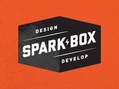 Dribbble - Sparkbox Identity by Ryan Clark #type #clark #ryan #logo