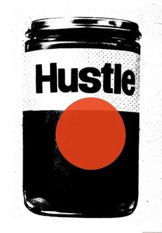 20100629_160209_01a_hustle.jpg 630×902 pixels #white #hustle #print #black #illustration #and #circle