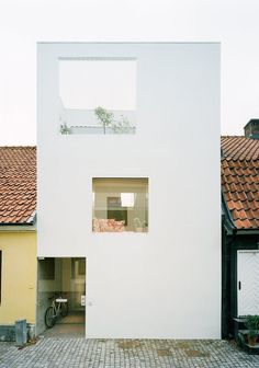 Townhouse by Elding Oscarson. © Lindman Photography. #architecture