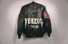 Yeezus Tour Pop-up Shop, Chicago #jacket #yeezus #confederate