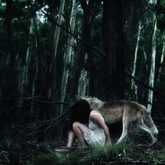 Jessica Tremp | iGNANT #girl #photo #jessica #wolf #tremp #forest