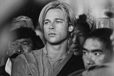 "Brad Pitt as Heinrich Harrer in ""Seven Years in Tibet"" (1997) Photo: David Appleby"