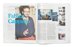 Folio. #branding #print #newspaper #direction #art #magazine