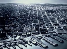 Gottfried Helnwein | WORKS | Landscapes | Untitled (San Francisco harbor) #francisco #san #painting #harbor